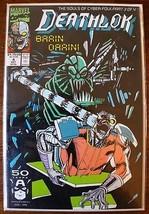 Deathlok #4 Brain Drain! (1991, Marvel) Comics, The Souls of Cyber-Folk ... - $4.00