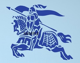 BLUE KNIGHT CROSS STITCH CHART - $10.00