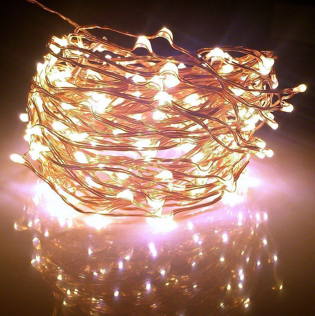 Outdoor String Lights Extra Long : Extra Long Starry Lights White String Indoor Outdoor Holiday 60 Warm 240 LED New - Lights