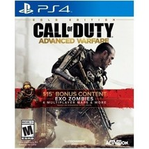 Call of Duty: Advanced Warfare Gold Edition PlayStation 4 Game Toys Video  - $70.06