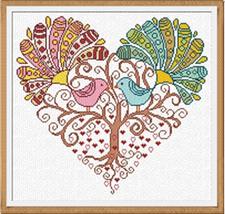 Simple Little Big Love (AAN185) cross stitch chart Alessandra Adelaide Needlewor - $15.30