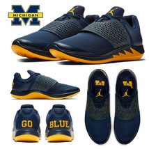 eb7051e098df9b Jordan Grind 2 Michigan Wolverines UM NCAA Men  39 s Shoes AT8011-407