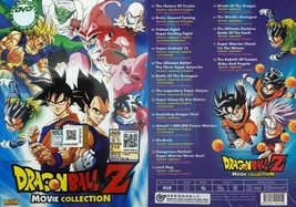 DRAGON BALL Z 18 MOVIE IN 1 DVD ENGLISH SUBTITLE REGION ALL Ship From USA