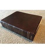 (1984) NIV KJV  NASB Amplified (1965) Comparative Study Bible Burgundy L... - $82.66