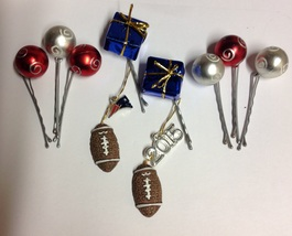 New England Patriots Beard Bauble Ornaments-TM Christmas Beard Ornaments... - $24.99