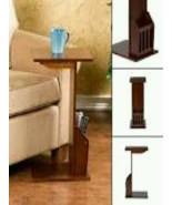 Eatting Table Magazine Holder Organizer Snack Food Tray End Furniture Tv... - $163.49