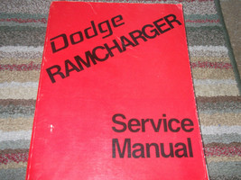 1974 Dodge Ramcharger Truck Service Shop Repair Manual Factory Diesel Oem X - $79.15