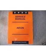 2000 Dodge Mopar Neon Service Repair Shop Workshop Manual OEM 2000 - $34.60