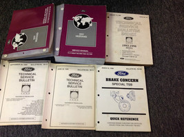 1997 Ford Mustang Gt Cobra Service Shop Manual Set OEM W EVTM + BULLETINS - $197.99