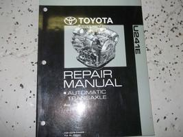 2004 04 Toyota Camry Solara Automatic Transaxle Service Shop Repair Manual U241 E - $98.99