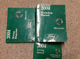 2004 Ford Mustang Gt Cobra Mach Service Shop Repair Manual SET W EWD & T... - $262.88