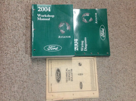 2004 LINCOLN AVIATOR TRUCK SUV Service Shop Repair Manual Set W EWD & Te... - $178.15