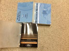 2006 Ford Taurus Service Shop Repair Manual Set W EWD & PCED Factory - $227.65