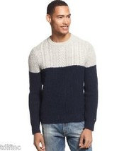 *NEW Tommy Hilfiger Peacoat Novelty Table Men's Crew Neck Sweater XXL  D... - $21.80