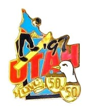 1997 Utah Collectible State Pin Exclusive Quest for the Best 50 in 50 QV... - $12.71