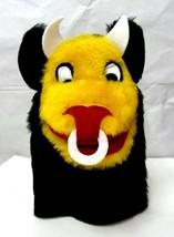 Bull Horns Ring Black Yellow White Red Hand Puppet Imagination Sheram Un... - $12.71
