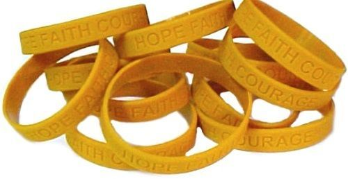 Childhood Cancer Awareness Bracelets Lot Of And 50 Similar Items