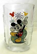 Mickey Mouse 2000 Glass Magic Kingdom Walt Disney World McDonald's Cup Collector - $29.37