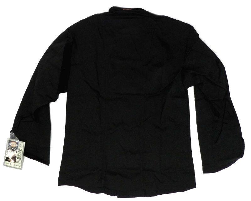 Dickies Executive Chef Jacket 54 Black CW070302C Restaurant Uniform Coat New