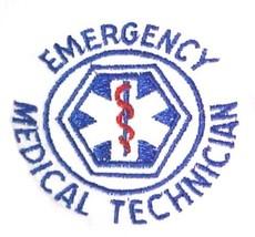 EMT T Shirt L Emergency Medical Technician White Short Sleeve Blend Star New image 3