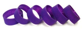 Peoria IL Christian Chargers Bracelets School Pride Jelly Silicone 6 Pur... - $11.73
