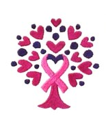 Pink Ribbon Hoodie 2XL Sweatshirt Heart Tree of Life White Breast Cancer... - $33.92
