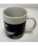 Pokemon Cartoon Coffee Mug Sherwood China Dark Blue Purple Cup Collectible - $12.71