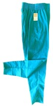 Scrub Pants Teal XS Elastic Waist Side Pockets Action Line Uniforms 6590... - $16.46