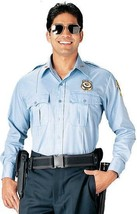 Rothco Police Security XL Poly Cotton L/S Class A Shirt 30010 Light Blue... - $25.45