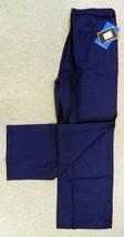 Scrub Pants Blue L Dickies 55215 MDB Elastic Tie Waist Medical Uniform New - $19.57