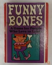 Vintage 1968 Parker Brothers Funny Bones Family Adult Card Game Original Box - $24.47