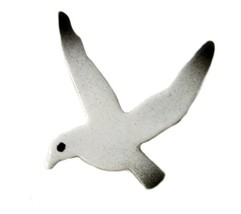 White Black Sea Gull Bird Swing Arm Costume Jew... - $29.37