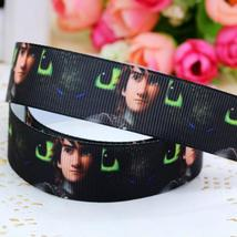 8 22mm movie how to train your dragon 2 cartoon printed grosgrain ribbon for girl copy thumb200