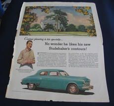 1948 Advertisement Studebaker Land Cruiser Camel Cigarettes Country Gentleman - $12.38
