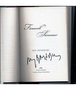 Ray Bradbury FAREWELL SUMMER first, as new, har... - $78.21