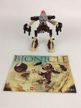 Lego Bionicle 2001 Building Set 8531 Pohatu (99% Complete) w/ Instructions - $18.76