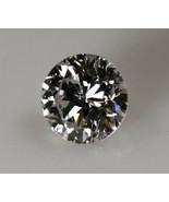 GIA Certified .58ct Round Brilliant Cut Diamond G Color VS1 Clarity Loos... - $1,750.00