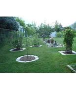 4 Large DIY Concrete Garden Edging Lawn Landscape Mold Set Wall Blocks F... - $85.95