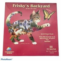 SunsOut Frisky's Backyard Special Shaped 800 Piece Jigsaw Puzzle - $14.84