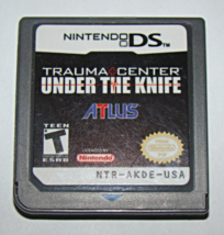 Nintendo DS - ATLUS - TRAUMA CENTER UNDER THE KNIFE (Game Only) - $10.00