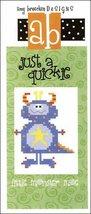 Just A Quickie: A Little Monster Moe cross stitch chart Amy Bruecken Designs - $3.60