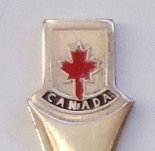 Collector Souvenir Spoon Canada Maple Leaf Vintage - $4.99
