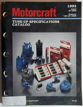 1992 Motorcraft Tune-Up specifications Catalog ... - $23.71