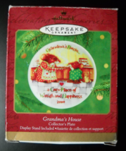 Hallmark Keepake Christmas Ornament 2000 Grandma's House Collector's Pla... - $6.99