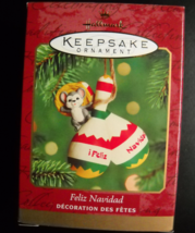 Hallmark Keepsake Christmas Ornament 2000 Feliz Navidad Mouse and Maraca... - $6.99