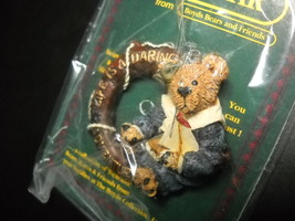 Boyds Bears Bearware Collection Bailey in Life Is A Daring Adventure Pin Sealed - $6.99