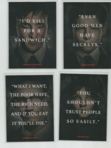 2016 TOPPS GOTHAM BEFORE / LEGEND LOT OF SEVEN (7) QUOTES CARDS:#2,3,4,5... - $4.99