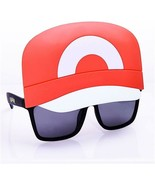 Costume Sunglasses Pokemon Ash Sun-Staches Party Favors UV400  - $9.49
