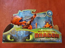 How To Train Your Dragon The Hidden World Snotlout & Hookfang Set  - $24.23