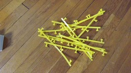 Pb 48 Pieces Of Tyco Ho Scale Slot Car Track, Guard Rails Track Stands - $85.14